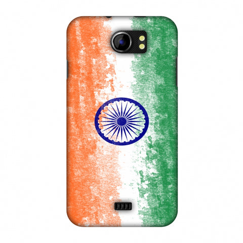 Love For India Slim Hard Shell Case For Micromax Canvas 2 A110