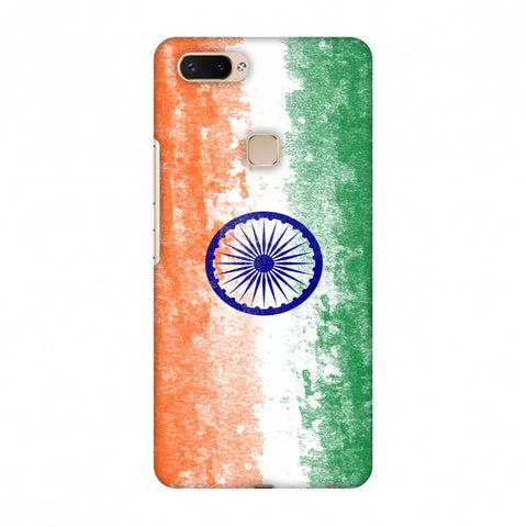 Love For India Slim Hard Shell Case For Vivo X20 Plus