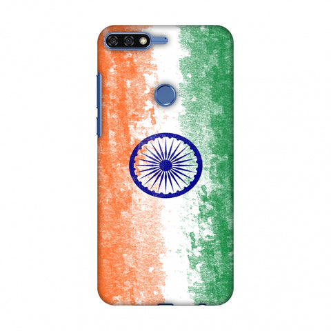 Love For India Slim Hard Shell Case For Huawei Honor 7C