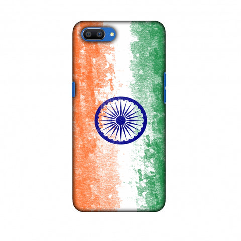 Love For India Slim Hard Shell Case For Oppo Realme C1