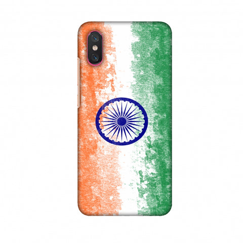 Love For India Slim Hard Shell Case For Xiaomi Mi 8 Pro