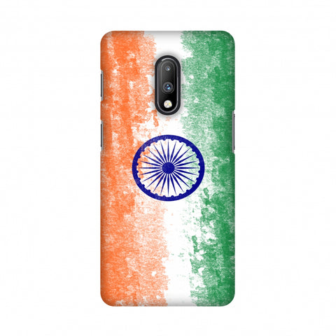 Love For India Slim Hard Shell Case For OnePlus 7