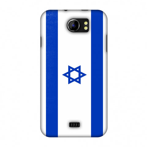 Love For Israel Slim Hard Shell Case For Micromax Canvas 2 A110