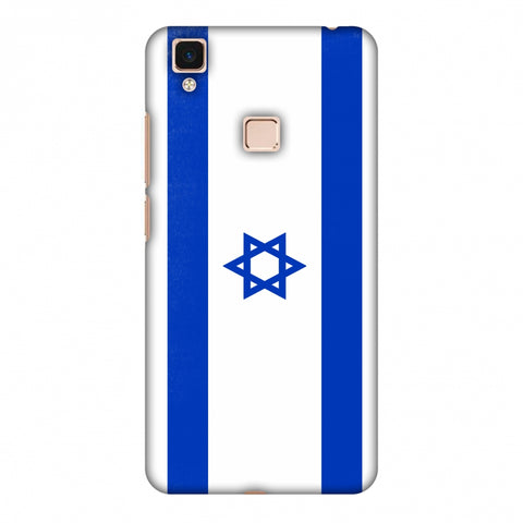 Love For Israel Slim Hard Shell Case For Vivo V3 Max