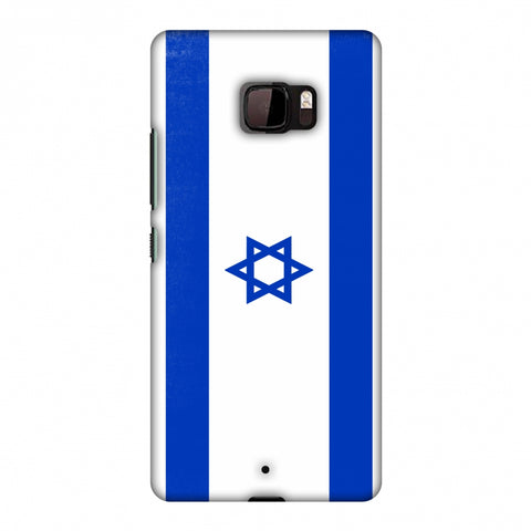 Love For Israel Slim Hard Shell Case For HTC U Ultra