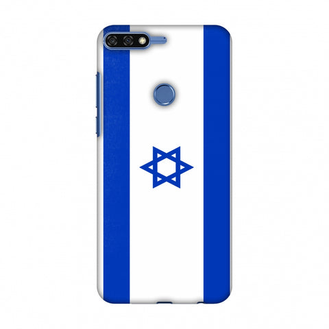 Love For Israel Slim Hard Shell Case For Huawei Honor 7C