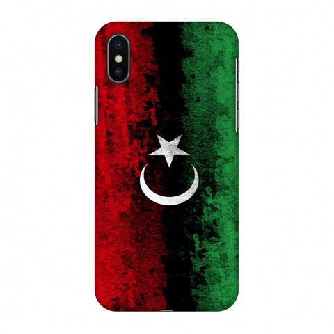 Love For Libya Slim Hard Shell Case For Apple iPhone X