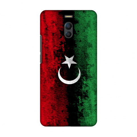 Love For Libya Slim Hard Shell Case For Meizu Note 6