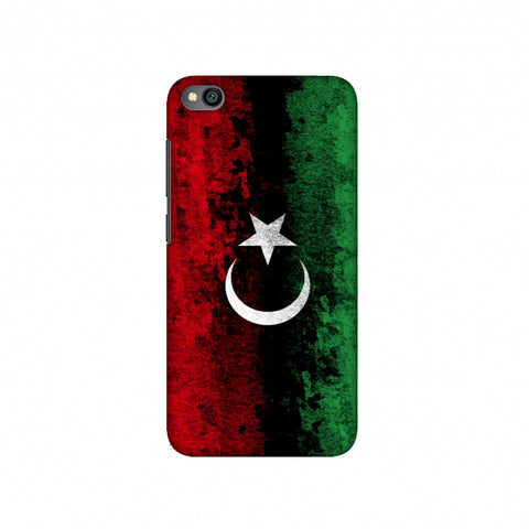 Love For Libya Slim Hard Shell Case For Redmi Go