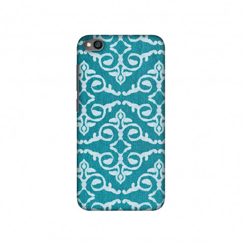 Batik Dyeing Art Deco - Aquamarine Slim Hard Shell Case For Redmi Go