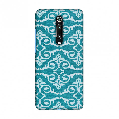 Batik Dyeing Art Deco - Aquamarine Slim Hard Shell Case For Redmi K20/K20 Pro