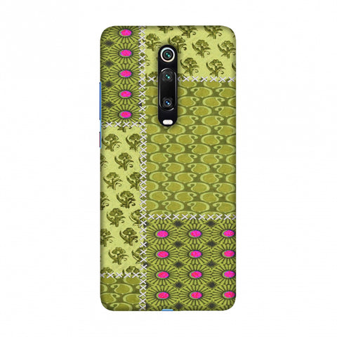 Patchwork - Woven Fabrics - Olive Green Slim Hard Shell Case For Redmi K20/K20 Pro