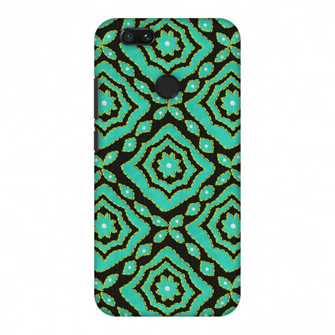 Kantha And Patchwork - Cyan Slim Hard Shell Case For Xiaomi MI A1-5X
