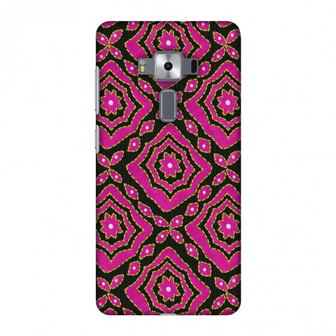 Kantha And Patchwork - Pink Slim Hard Shell Case For Asus Zenfone 3 Deluxe ZS570KL