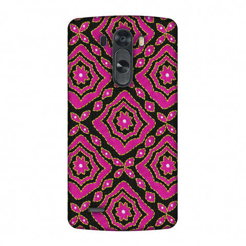 Kantha And Patchwork - Pink Slim Hard Shell Case For LG G4