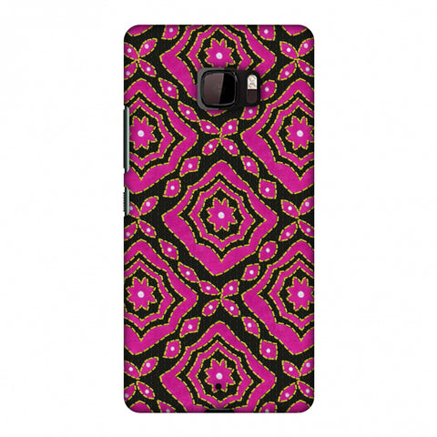 Kantha And Patchwork - Pink Slim Hard Shell Case For HTC U Ultra