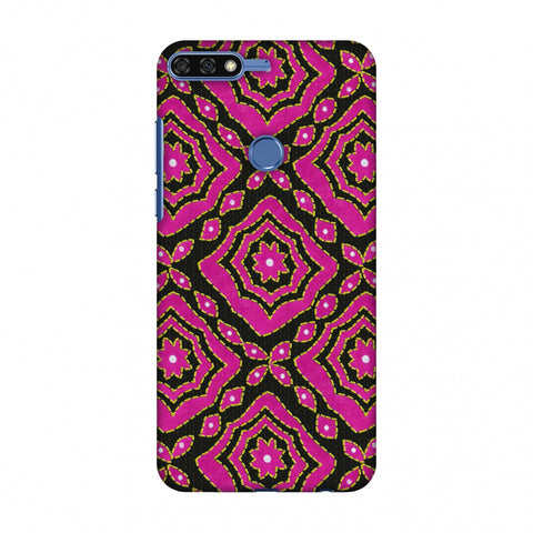 Kantha And Patchwork - Pink Slim Hard Shell Case For Huawei Honor 7C
