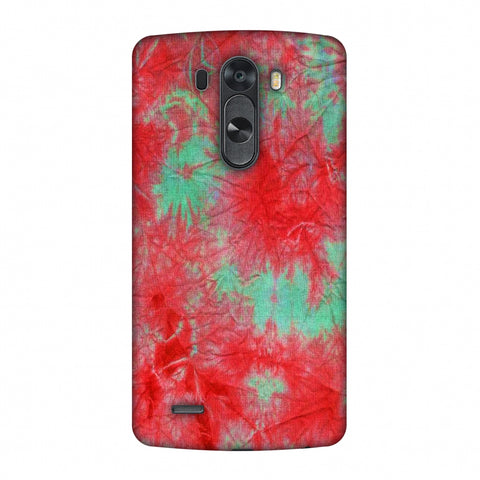 Marble Dyeing - Pink And Aquamarine Slim Hard Shell Case For LG G4