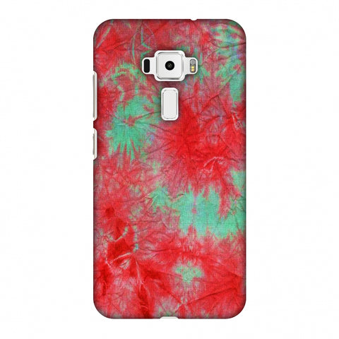 Marble Dyeing - Pink And Aquamarine Slim Hard Shell Case For Asus Zenfone 3 ZE520KL