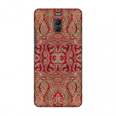 Zardozi Geometric Motifs - Red Slim Hard Shell Case For Meizu Note 6