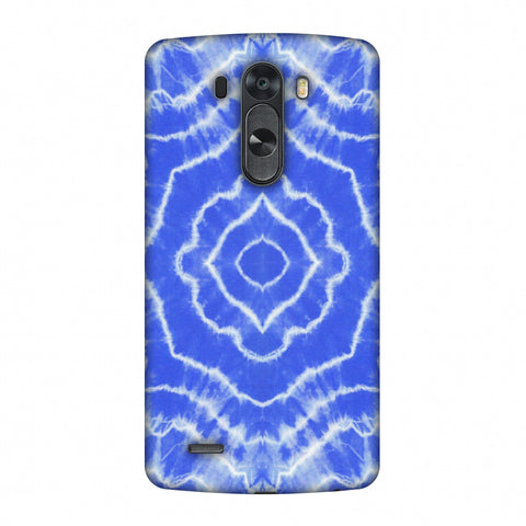 Shibori Dyeing Waves - Light Blue Slim Hard Shell Case For LG G4