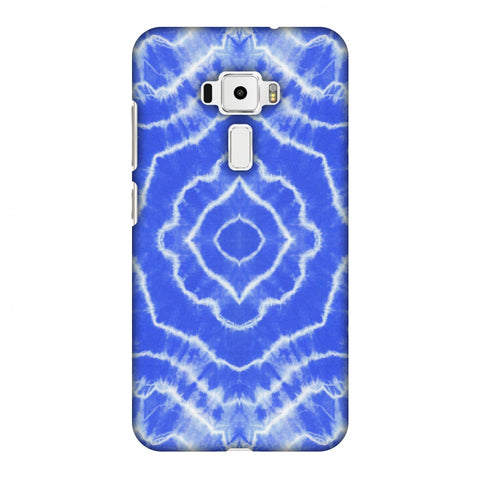Shibori Dyeing Waves - Light Blue Slim Hard Shell Case For Asus Zenfone 3 ZE520KL