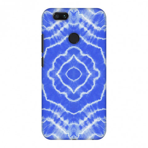 Shibori Dyeing Waves - Light Blue Slim Hard Shell Case For Xiaomi MI A1-5X