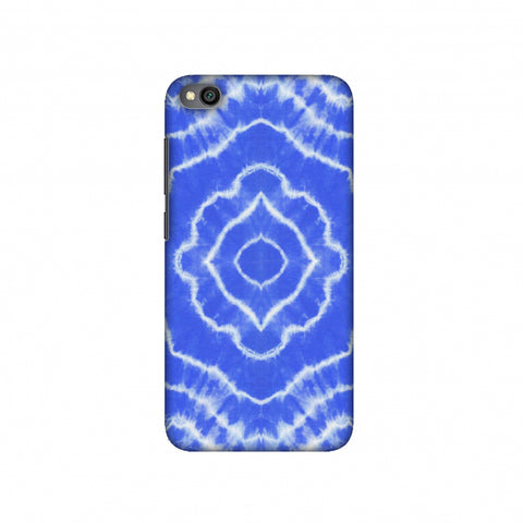 Shibori Dyeing Waves - Light Blue Slim Hard Shell Case For Redmi Go