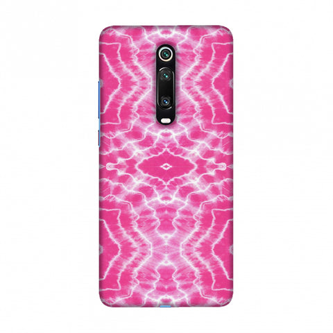 Shibori Dyeing Waves - Pink Slim Hard Shell Case For Redmi K20/K20 Pro