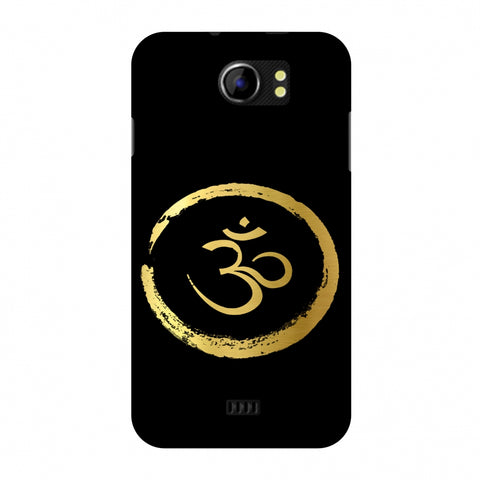 Om Slim Hard Shell Case For Micromax Canvas 2 A110