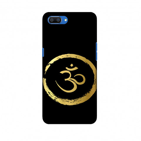 Om Slim Hard Shell Case For Oppo Realme C1
