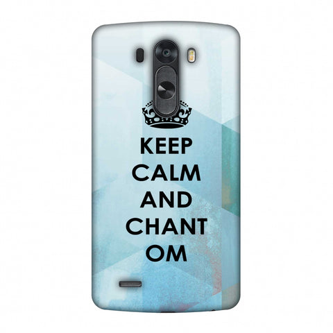Keep Calm - Chant Om Slim Hard Shell Case For LG G4