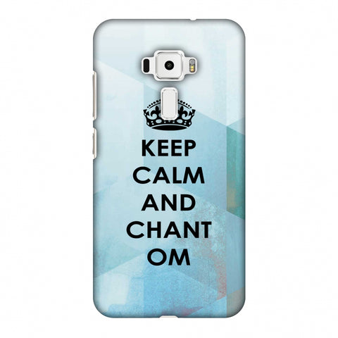 Keep Calm - Chant Om Slim Hard Shell Case For Asus Zenfone 3 ZE520KL