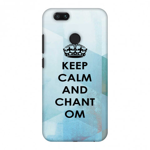 Keep Calm - Chant Om Slim Hard Shell Case For Xiaomi MI A1-5X