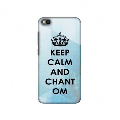 Keep Calm - Chant Om Slim Hard Shell Case For Redmi Go