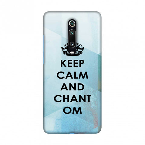 Keep Calm - Chant Om Slim Hard Shell Case For Redmi K20/K20 Pro