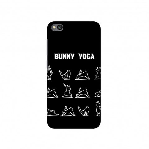Bunny Yoga Slim Hard Shell Case For Redmi Go