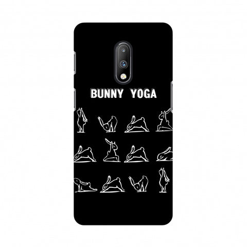 Bunny Yoga Slim Hard Shell Case For OnePlus 7