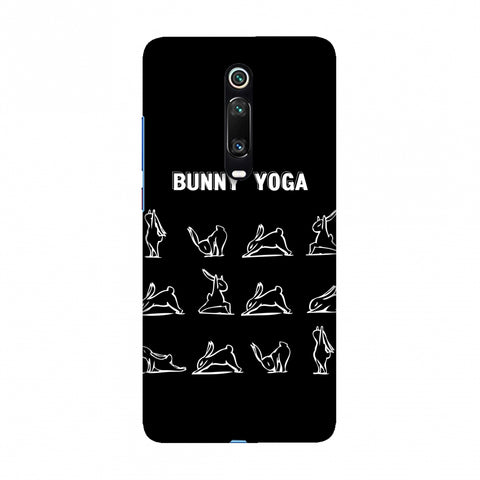 Bunny Yoga Slim Hard Shell Case For Redmi K20/K20 Pro