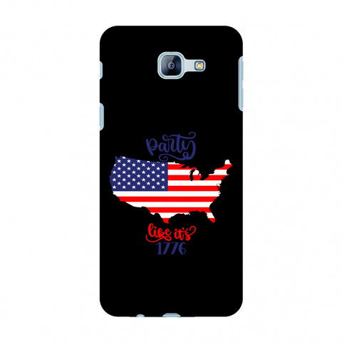 USA Flag - Party Like Its 1776 Slim Hard Shell Case For Samsung Galaxy A8 2016