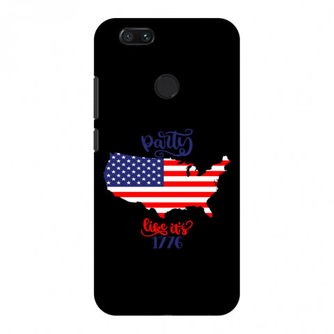 USA Flag - Party Like Its 1776 Slim Hard Shell Case For Xiaomi MI A1-5X