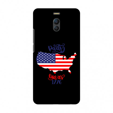 USA Flag - Party Like Its 1776 Slim Hard Shell Case For Meizu Note 6