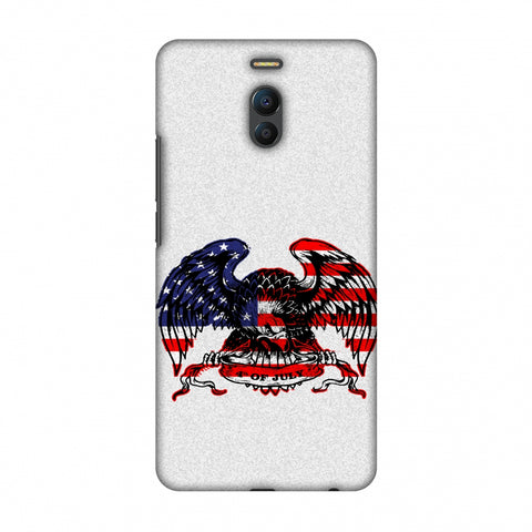 USA Flag - Bald Eagle Slim Hard Shell Case For Meizu Note 6
