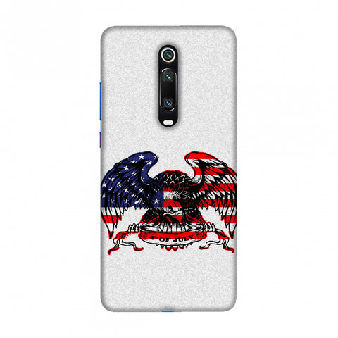 USA Flag - Bald Eagle Slim Hard Shell Case For Redmi K20/K20 Pro