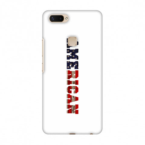 USA Flag - American Textured Slim Hard Shell Case For Vivo X20 Plus