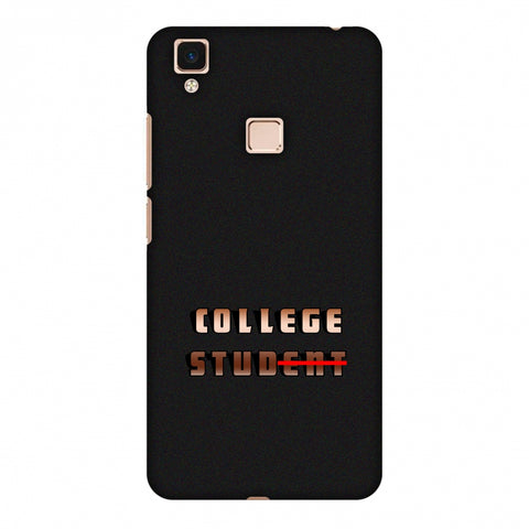 College Stud Slim Hard Shell Case For Vivo V3 Max