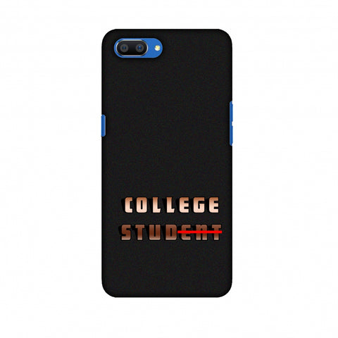 College Stud Slim Hard Shell Case For Oppo Realme C1