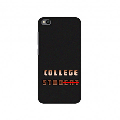 College Stud Slim Hard Shell Case For Redmi Go