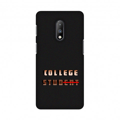 College Stud Slim Hard Shell Case For OnePlus 7