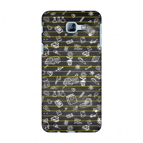School Memories - Collage - Black Slim Hard Shell Case For Samsung Galaxy A8 2016